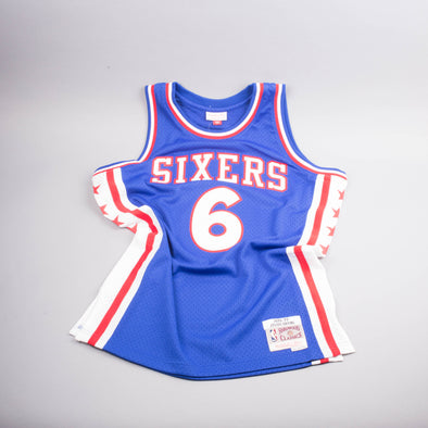 Copy of Mitchell & Ness Erving Sixers Jersey-Men's T-Shirts-Mitchell & Ness | The Brooklyn Way