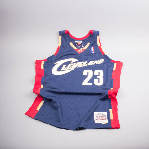 Mitchell & Ness Labron James Cleveland Jersey-Men's T-Shirts-Mitchell & Ness | The Brooklyn Way