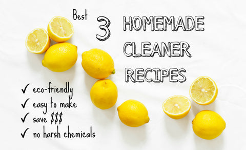 3 Homemade Cleaner Recipes Sola Skincare