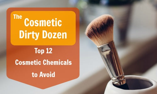 Cosmetic Dirty Dozen chemical free skincare