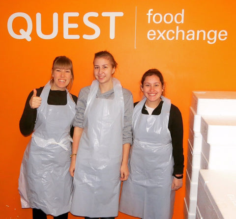Quest Food Exchange Volunteers
