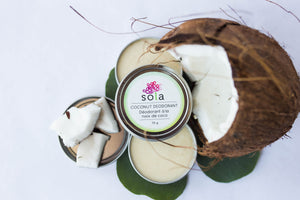 Coconut Deodorant Bundle