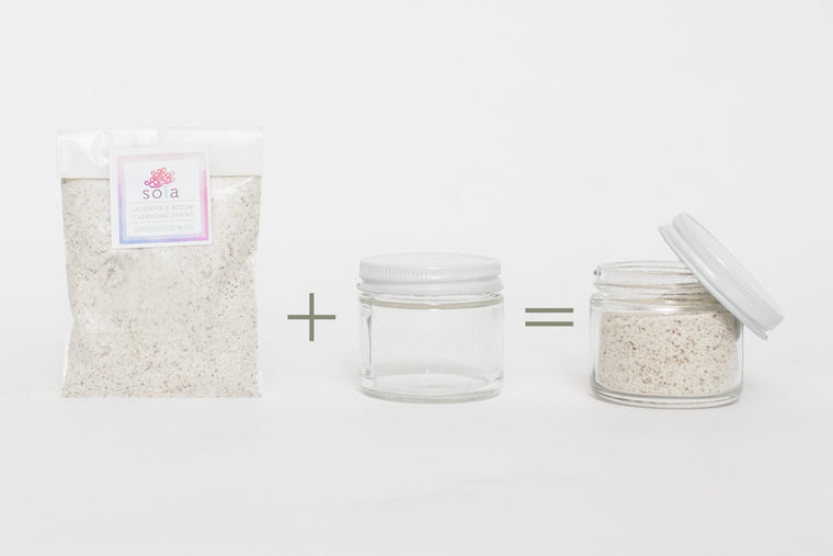 Lavender & Adzuki Cleansing Grains REFILL