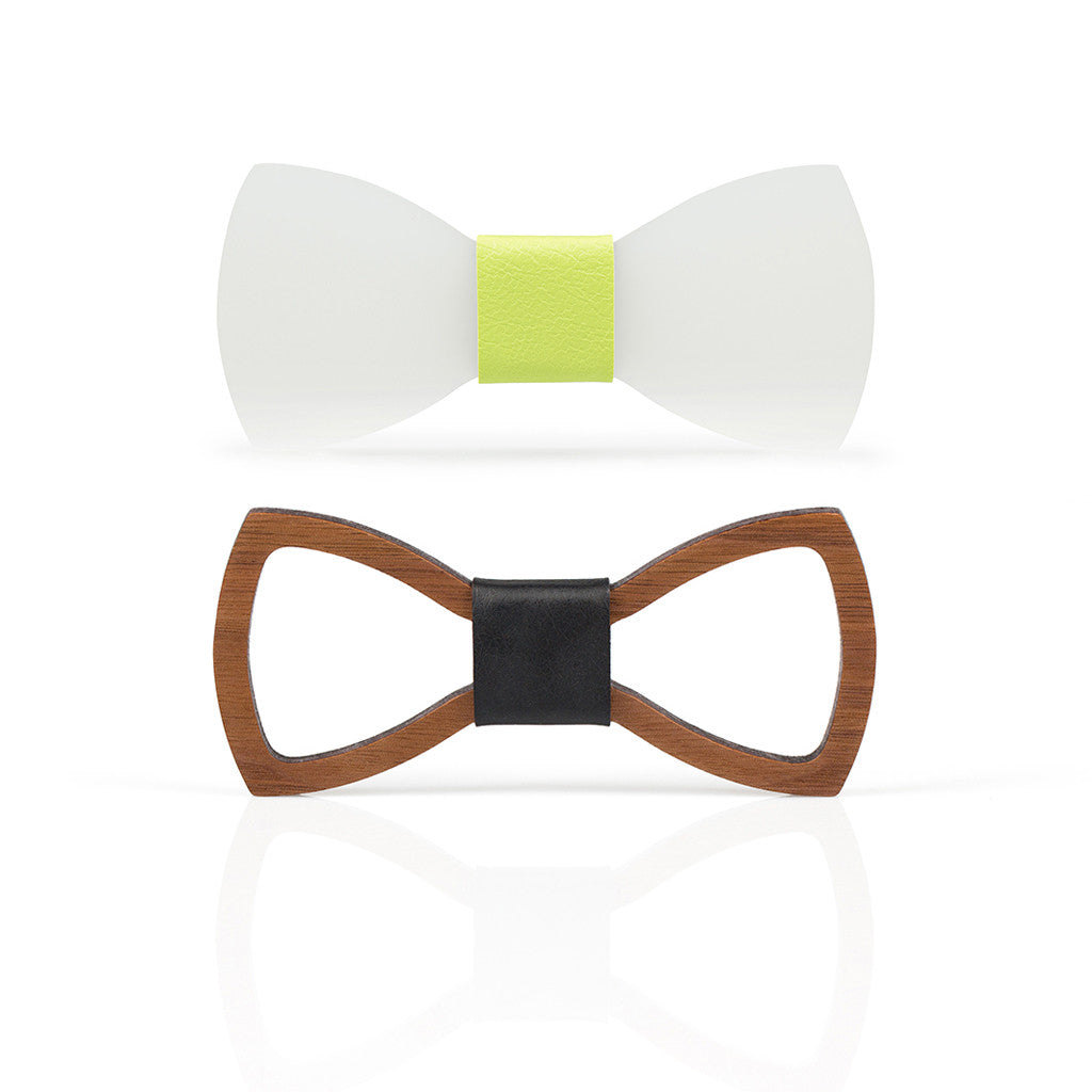 Two bow ties