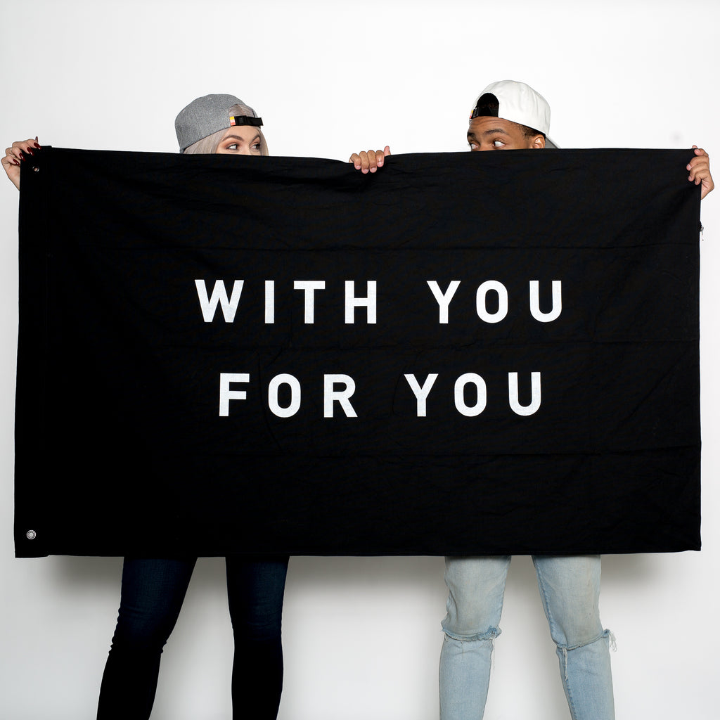 Flag - WITH YOU FOR YOU