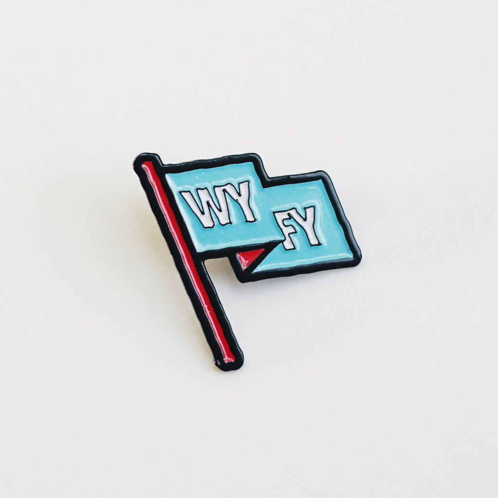 Enamel Pin - WYFY Flag