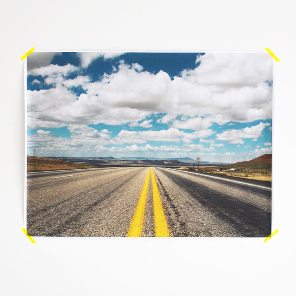 Engineer Print - The Open Road