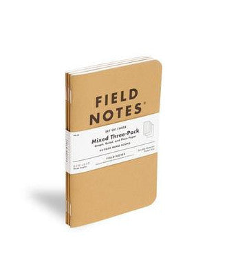 Field Notes - Classics (3 Pack)