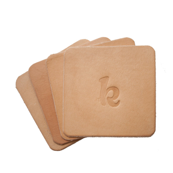 Lewis Coasters - The K (Natural)