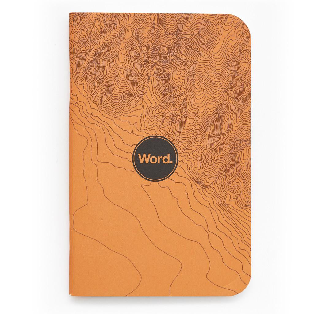 Word. Notebooks - Terrain (3 Pack)