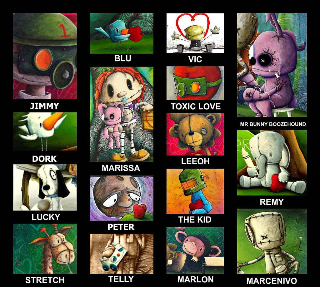 Meet the characters! Fabio Napoleoni originals