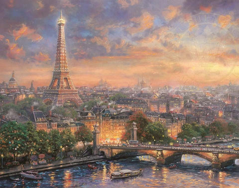 Thomas Kinkade Disney Dreams