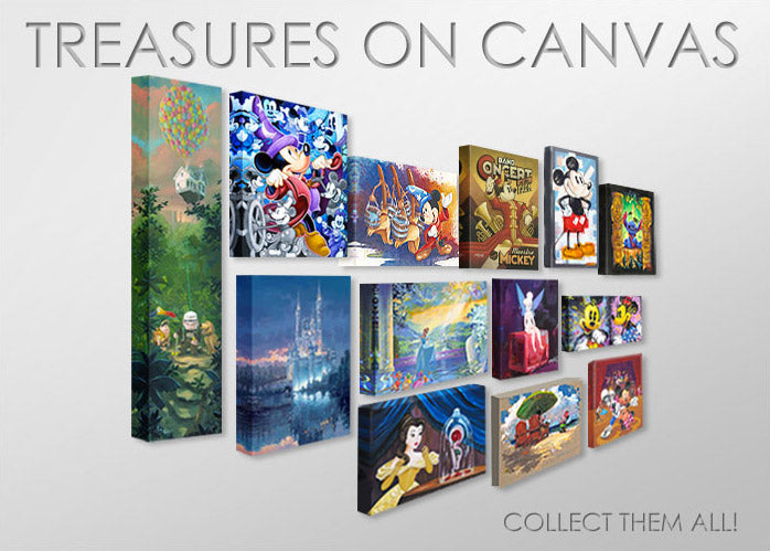 Featured Image for Disney Treasures on Canvas Collection