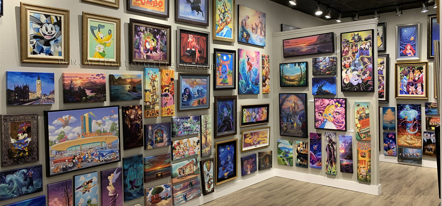Showcase of Disney Art and Artists