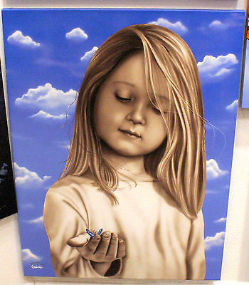 "Michael Godard - ""Precious Moments ""  Giclee Limited edition 12"" by 28 "" - Art Center Gallery"