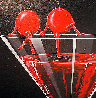 "Michael Godard ""Cosmo In Love"" Limited Edition Canvas Giclee"