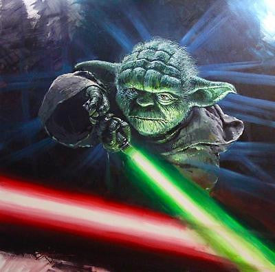 "Rodel Gonzalez Star Wars ""Good vs. Evil"" Limited Edition Canvas Giclee"
