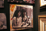 "Stickman Stickman - ""Kieth &  Mick "" Artrist Proof Edition Canvas Giclee 24"" by 24""  7/50 Giclee Canvas Prints"