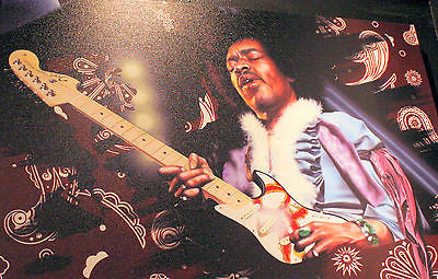 "Stickman ""Kissin' the Sky"" (Jimi Hendrix) Limited Edition Canvas Giclee"