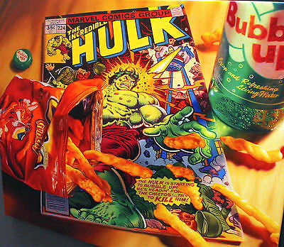 "Doug Bloodworth ""Cheetos Hulk"" Limited Edition Canvas Giclee"