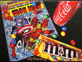 "Doug Bloodworth - ""Captian America"" Giclee canvas 18 x 24 Edition 180 - Art Center Gallery"