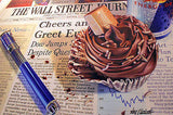 "Doug Bloodworth - ""Wall St Journal"" Giclee canvas  limited  21 by 36  Edition size 180 - Art Center Gallery"