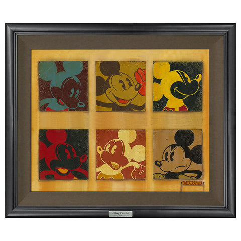 "Trevor Carlton Disney ""6-Up Mickey"" Limited Edition Canvas Giclee"