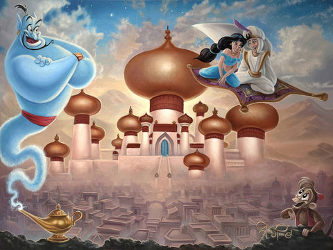 "Jared Franco Disney ""A Whole New World"" Limited Edition Canvas Giclee"