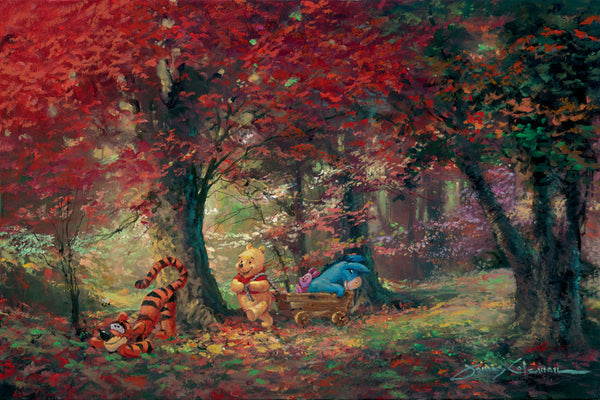 "James Coleman Disney ""Adventure in the Woods"" Limited Edition Canvas Giclee"