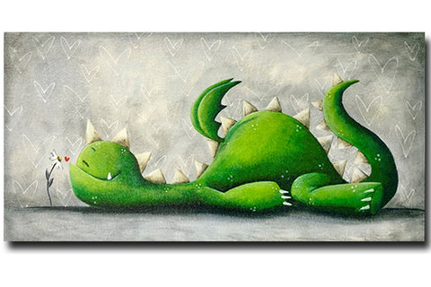 "Fabio Napoleoni ""Ahhh"" Limited Edition Canvas Giclee"