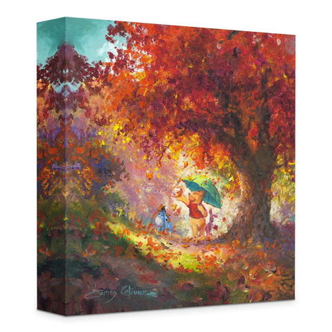 "James Coleman Disney ""Autumn Leaves Gently Falling"" Limited Edition Canvas Giclee"