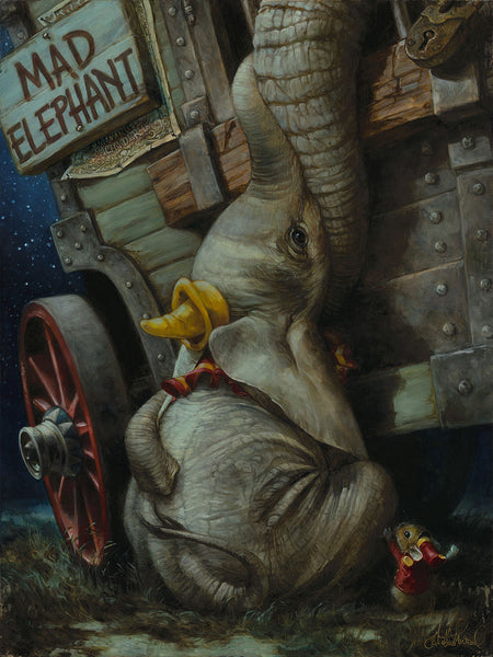 "Heather Theurer Disney ""Baby of Mine"" Limited Edition Canvas Giclee"