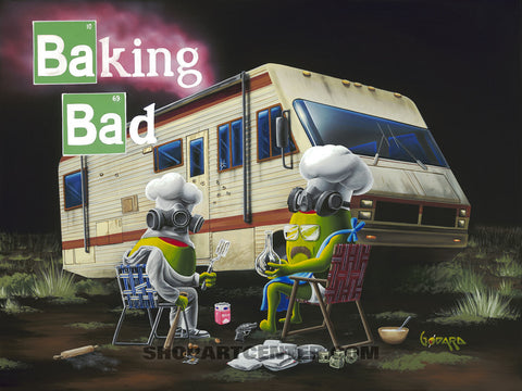"Michael Godard ""Baking Bad"" Limited Edition Canvas Giclee"