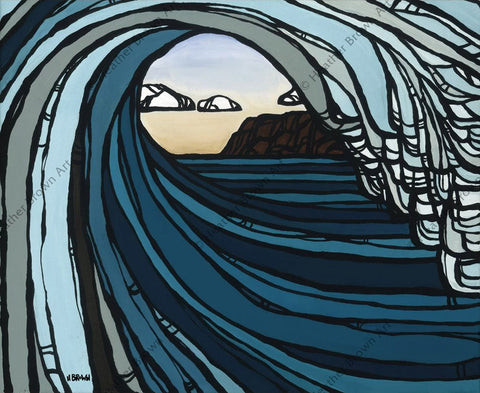 "Heather Brown ""Barrel View"" Limited Edition Canvas Giclee"