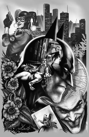 "Jed Thomas ""Batman : The Boy Who Became the Bat"" Limited Edition Metal"