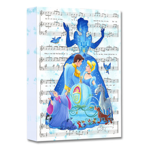 "Tim Rogerson Disney ""Bibbidi Bobbidi Boo"" Limited Edition Canvas Giclee"