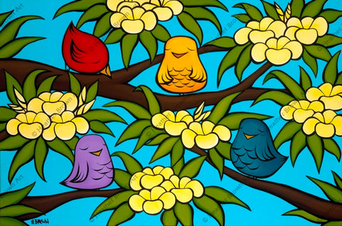 "Heather Brown ""Bird 'Ohana"" Limited Edition Canvas Giclee"
