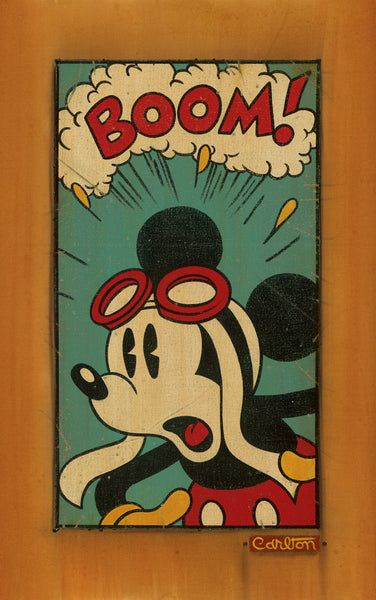 "Trevor Carlton Disney ""Boom!"" Limited Edition Canvas Giclee"