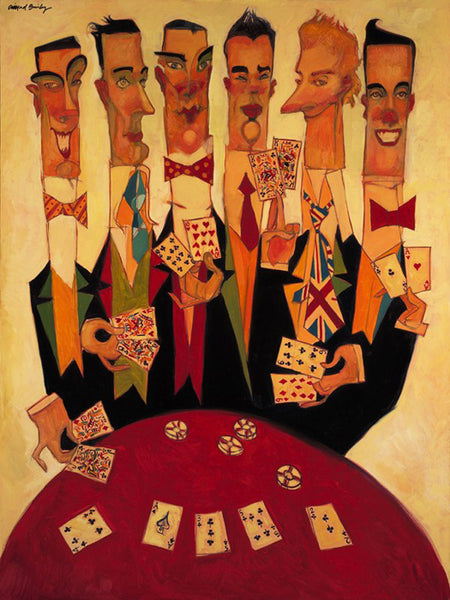 "Clifford Bailey ""Clubs"" Limited Edition Canvas Giclee"