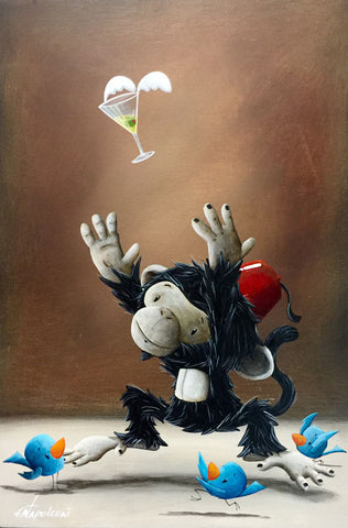 "Fabio Napoleoni ""Chasing a Good Time"" Limited Edition Canvas Giclee"