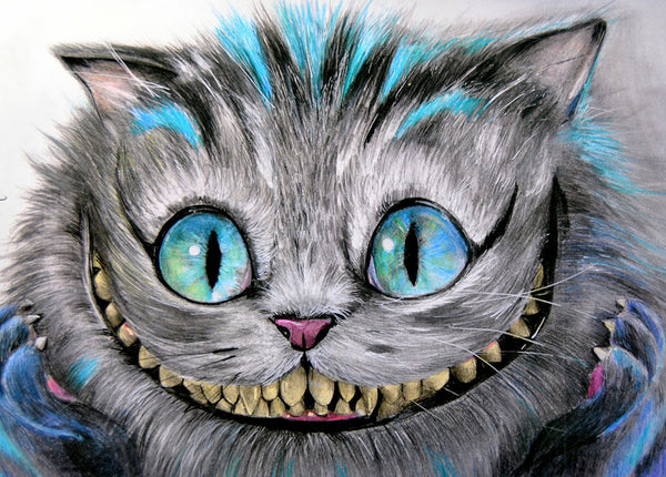 "Manuela Lai ""Cheshire Cat"" Canvas Giclee"