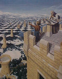 "Rob Gonsalves Rob Gonsalves ""Chess Master (The)"" Giclée on Paper 7 x 8 3/4"""" Limited 295 Paper and Canvas Giclee"