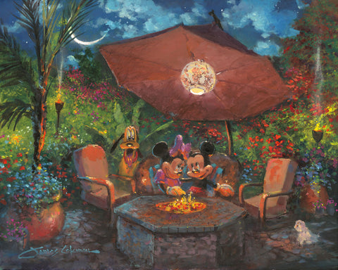 "James Coleman Disney ""Coleman's Paradise"" Limited Edition Canvas Giclee"