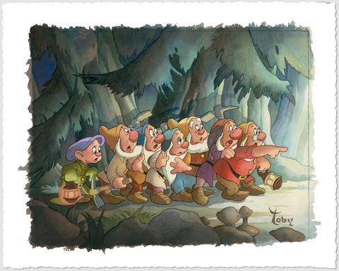 "Toby Bluth Disney ""Coming Home"" Limited Edition Paper Giclee"