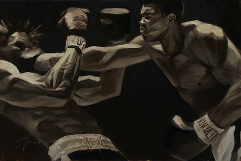 "Gabe Leonard ""The Greatest"" Original on Canvas"