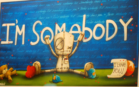 "Fabio Napoleoni ""Somebody Loves You"" Limited Edition Paper Giclee"