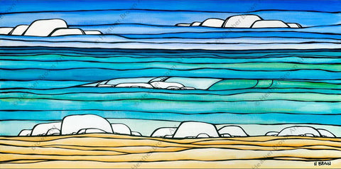 "Heather Brown ""Daydream Sea"" Limited Edition Canvas Giclee"