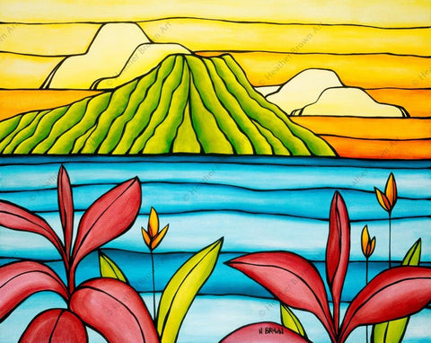"Heather Brown ""Daydreams of Diamond Head"" Limited Edition Canvas Giclee"