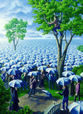 "Rob Gonsalves Rob Gonsalves ""Deluged"" Giclée on Paper 5 3/4 x 7 3/4"""" Limited 395 Paper and Canvas Giclee"