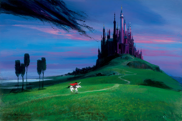"Peter Ellenshaw Disney ""Aurora's Rescue"" Limited Edition Canvas Giclee"